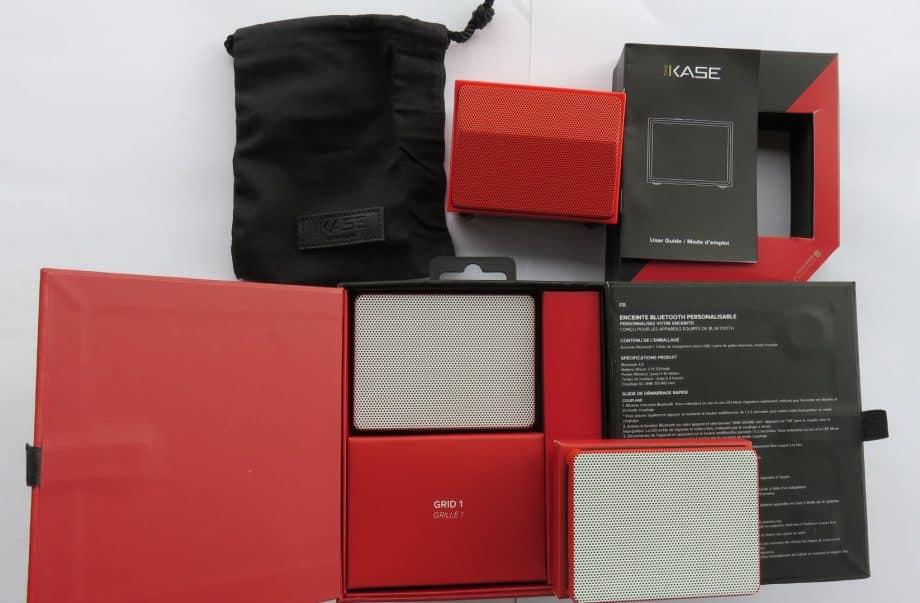 thekase Enceinte Bluetooth personnalisable