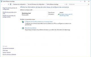Comment retrouver sa clé de sécurité Wi-Fi sous Windows 10