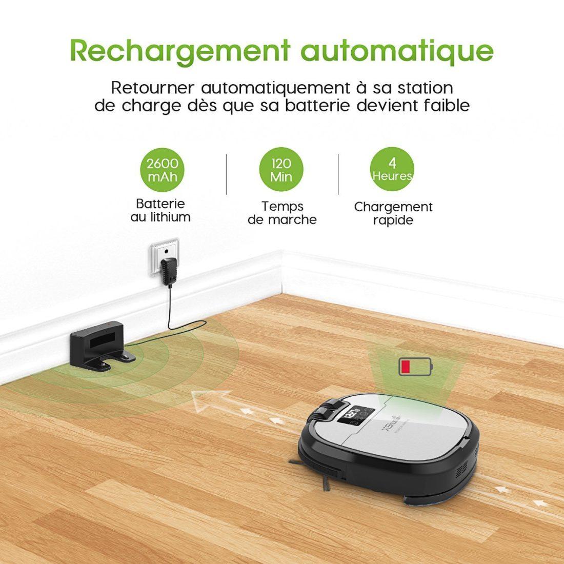 Holife propose un aspirateur robot connect sans fil - Objet connecte sans fil ...
