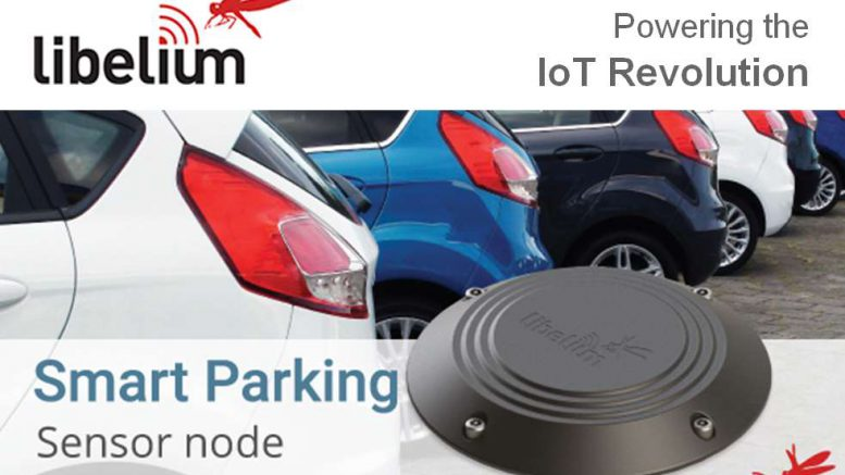 libelium smart parking solution