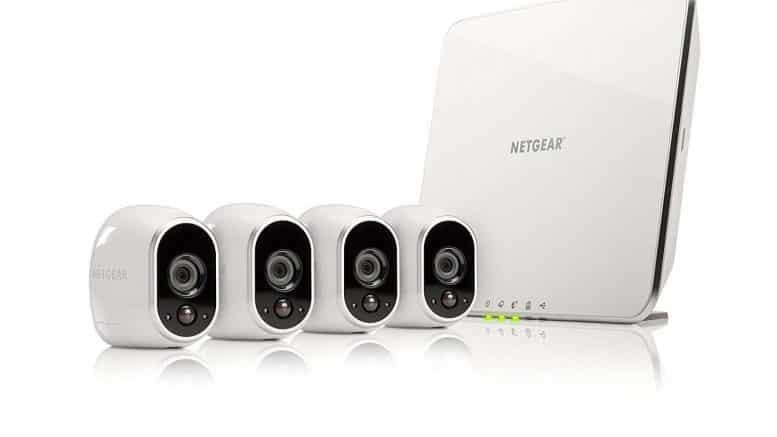 netgear Arlo kit 4 cameras