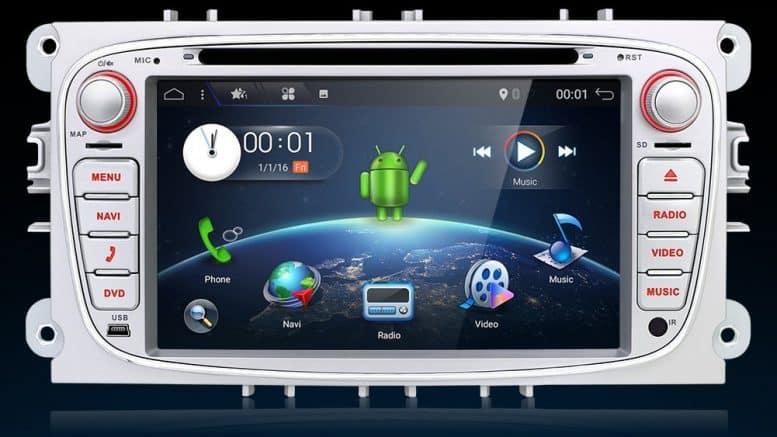 KC Navigation Système de navigation et connecté pour Ford Focus