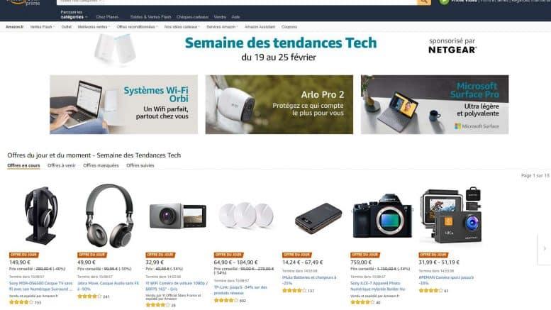 Semaine des tendances Tech Amazon