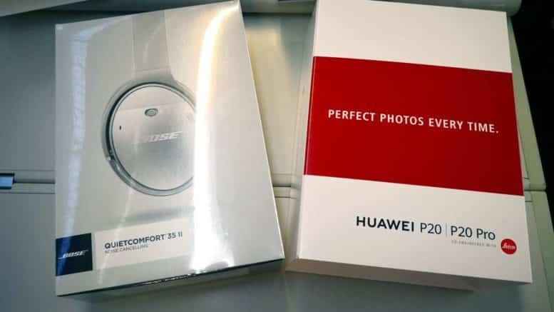 Huawei P20 PRO Bose QuietConfort