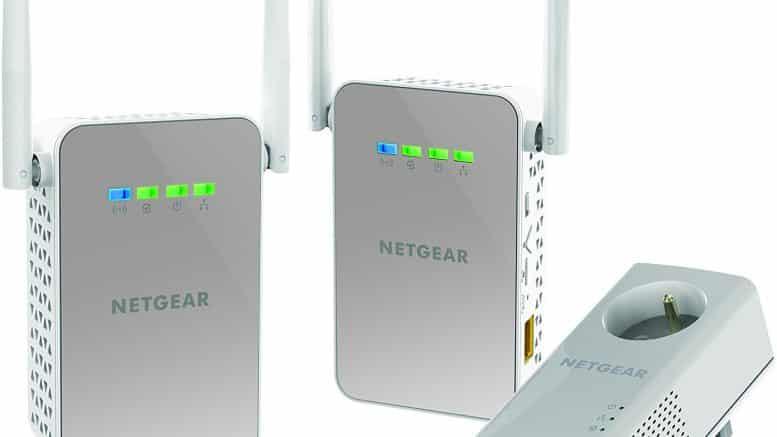 Pack de 3 CPL NETGEAR PLPW1000T-100FRS