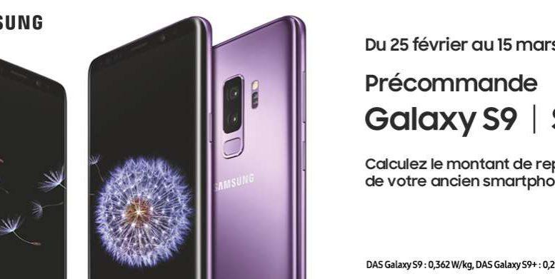 galaxy S9 Bon plan