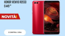 honor view 10 Rosso
