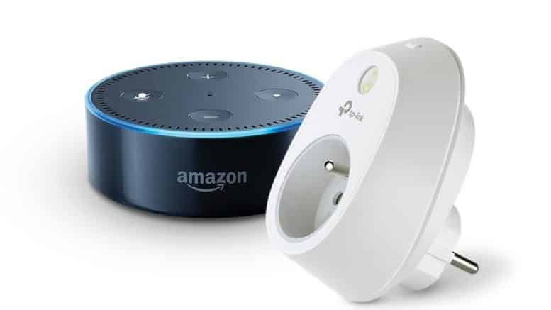 Amazon Echo Dot TP-Link HS100