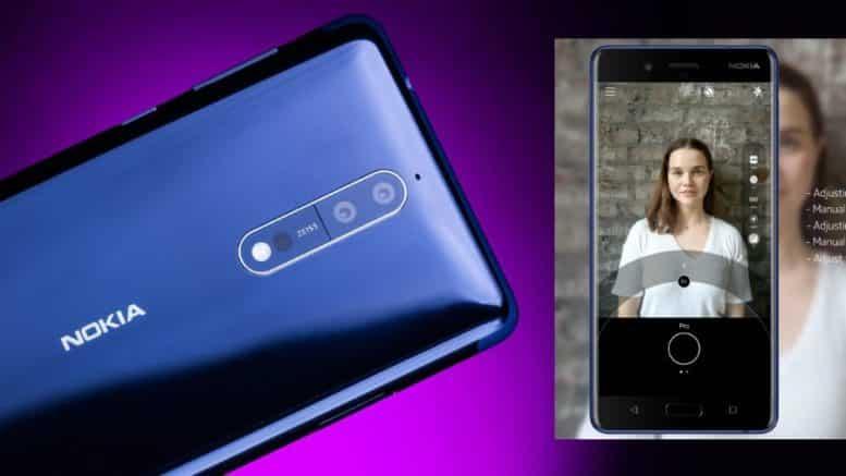 Nokia 8 Photo