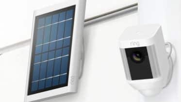 Ring Spotlight Cam Battery solar