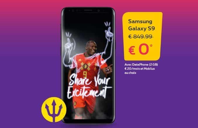 Samsung galaxy S9 cadeau