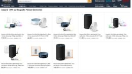 amazon maison connectee