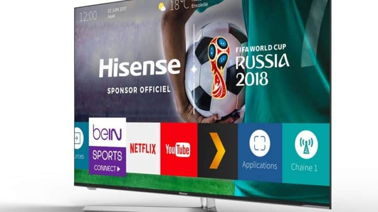 hisense TV U7A