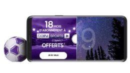 samsung galaxy S9 BEIN Sport
