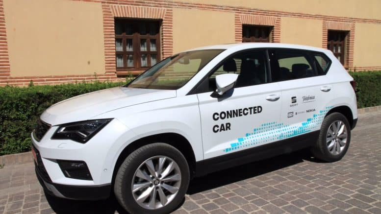 seat ateca connected
