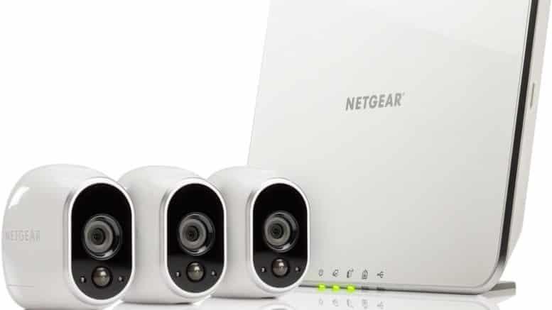 3 caméras Arlo de Netgear
