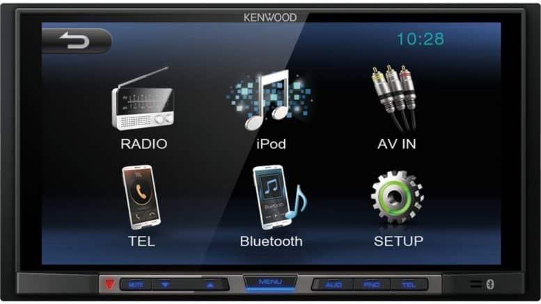 Kenwood Electronics DMX100BT 200W Bluetooth