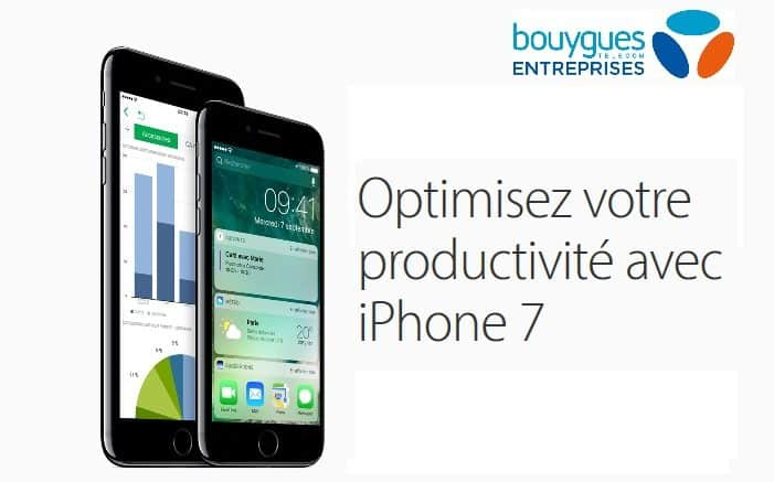 bouygues iPhone 7