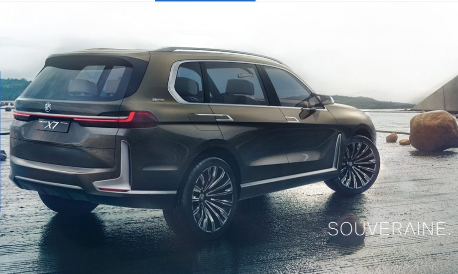 BMW X7 connected