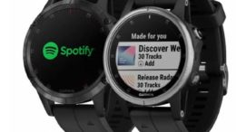 Garmin fēnix 5 Plus spotify