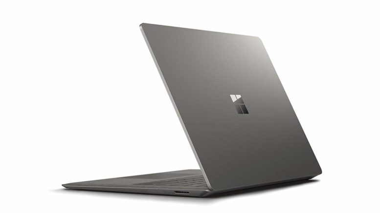 Microsoft Surface Laptop.