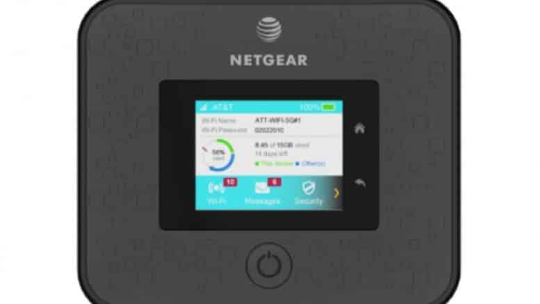 Netgear 5G Hotspot AT&T