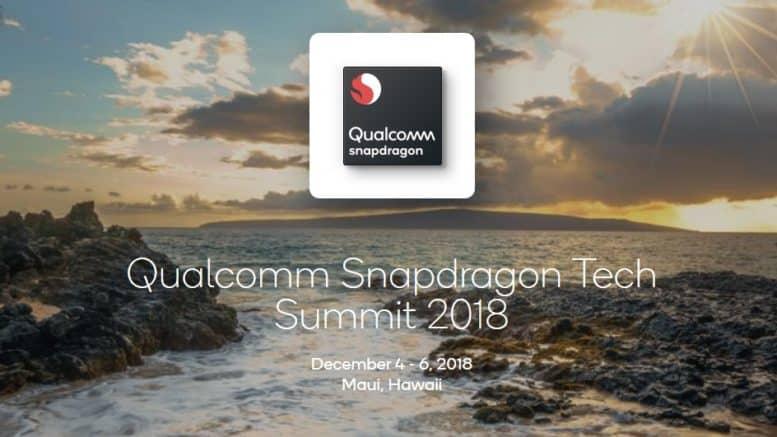Qualcomm Snapdragon Tech Summit 2018