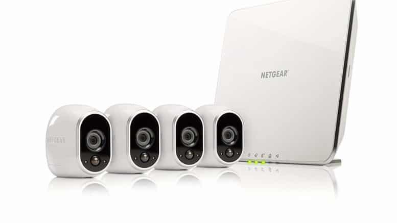 Arlo Kit de Surveillance pack de 4 caméras