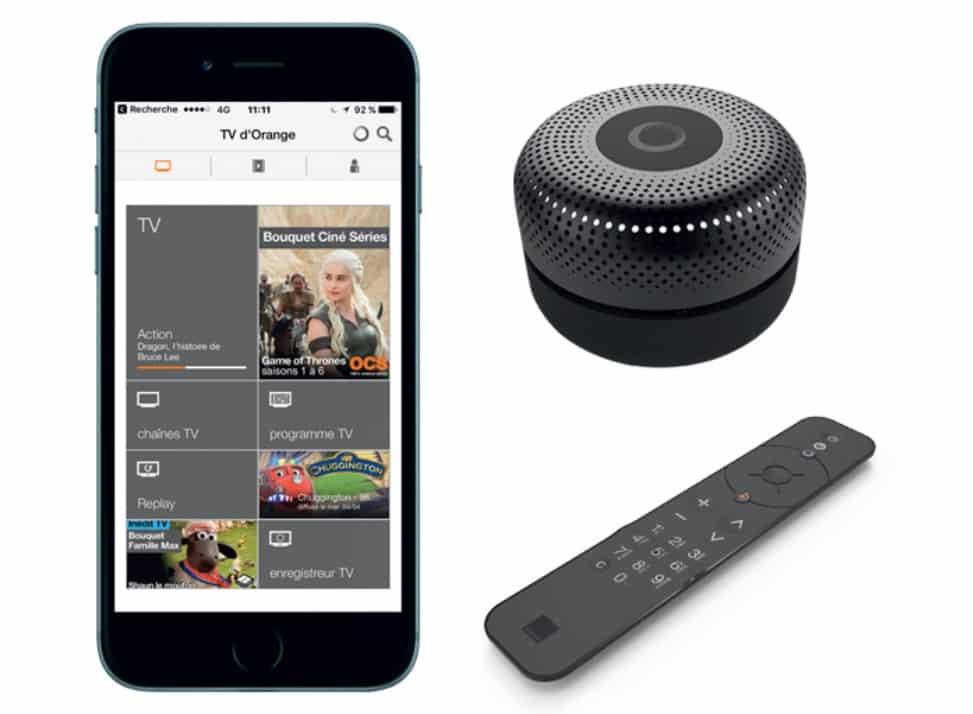 djingo le haut parleur connect d orange pour tout faire. Black Bedroom Furniture Sets. Home Design Ideas