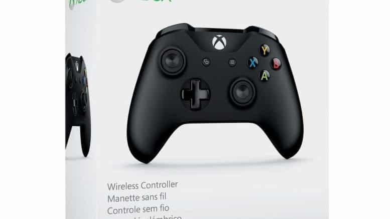 Microsoft Manette Noire sans fil