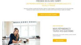 Somfy Freebox Delta