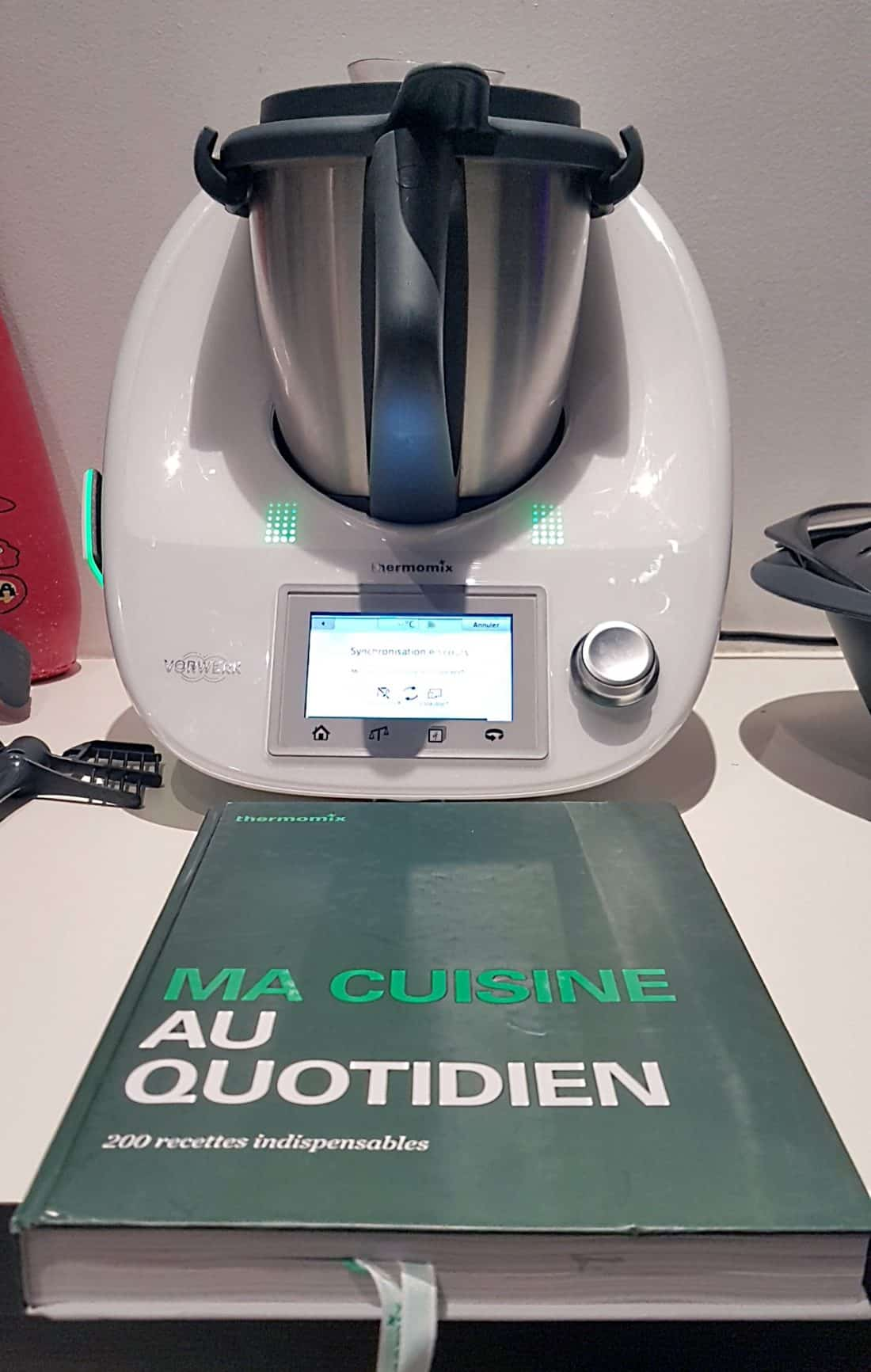 test : thermomix tm5 + cook-key. -