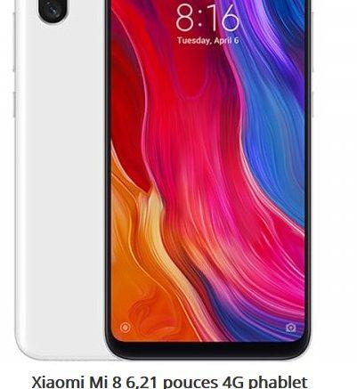 Xiaomi Mi 8 6,21 pouces 4G