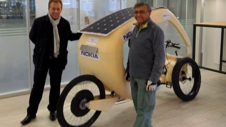 Nokia Solar Connected Bike