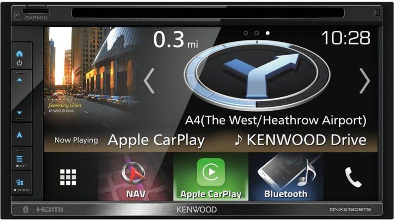 Kenwood 2DIN Autoradio