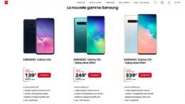 Samsung Galaxy S10 SFR