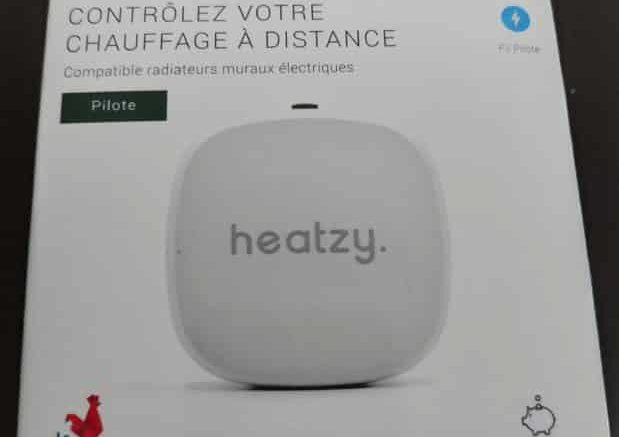 Heatzy unboxing
