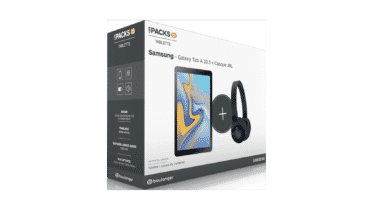 Pack Samsung Galaxy Tab A 10.5 Noir + Casque JBL