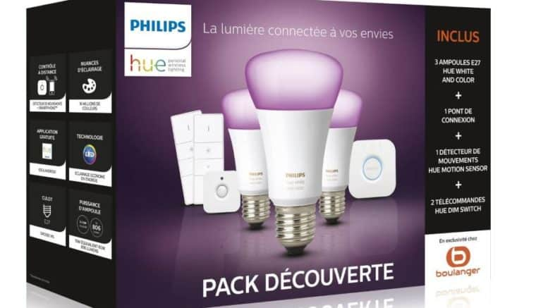 Philips Hue découverte