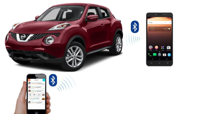 BLuetooth appairage voiture nissan