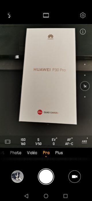 Huawei P30 Pro mode Pro