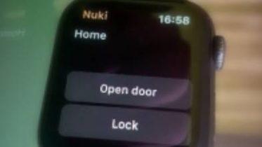 Nuki Apple Watch