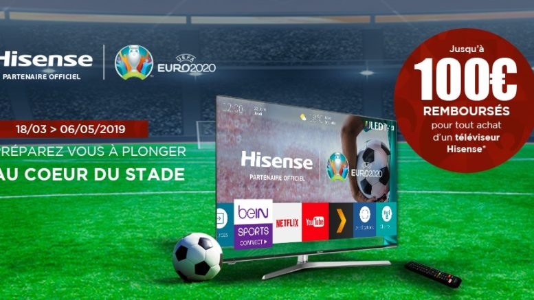 TV LED Hisense H55U7A
