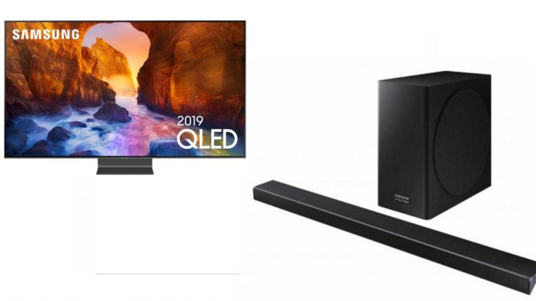 Pack TV QLED Samsung QE55Q90R