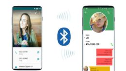 BLuetooth contact sharing smartphone