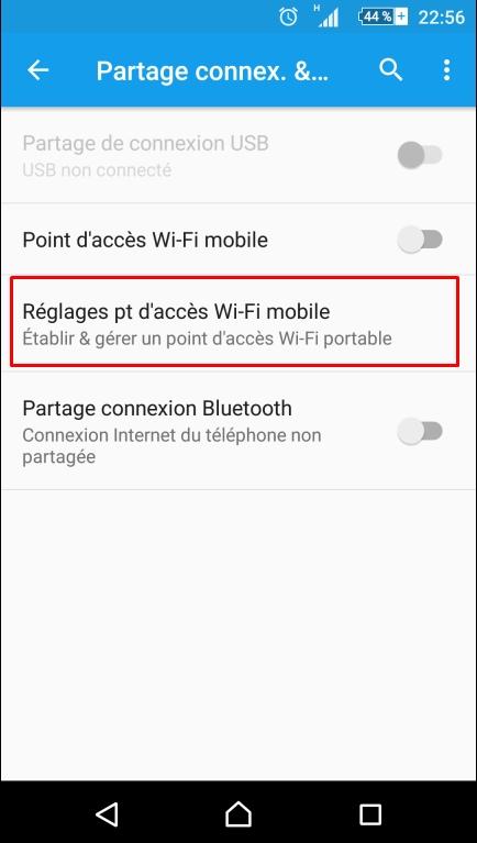 Comment activer le partage de connexion Wi-Fi sur son smartphone Android