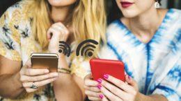 partage de connexion WiFi