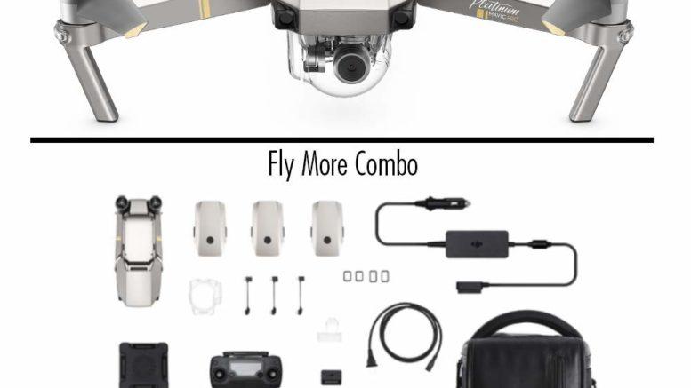 DJI - Mavic Pro Fly More Combo Platinum