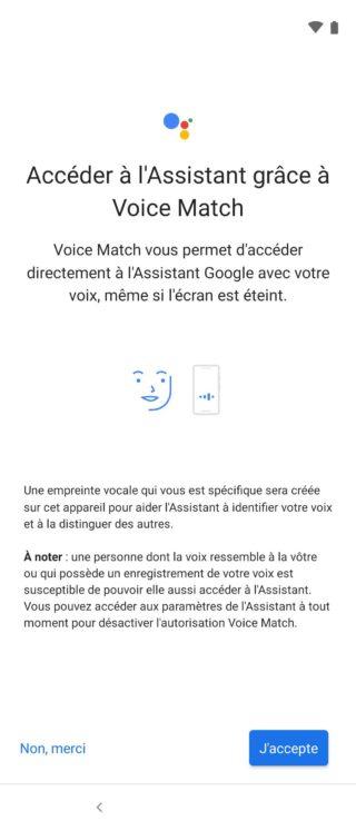 Test :Motorola One Vision.