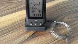VCB Digital Wireless Barbecue BBQ Meat Thermometer